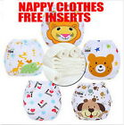 14Covers 3/5/10pcs Adjustable Reusable Lot Baby Washable Cloth Diaper Nappies PU