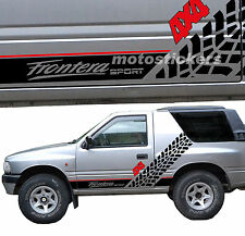 Stickers off-road 4x4 - OPEL FRONTERA SPORT - Sticker Kit SIDES Racing