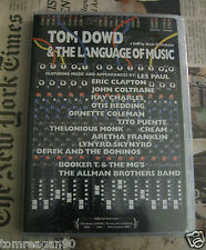 Tom Dowd and the Language of Music DVD NEW SEALED Minor Case Issue Pls Rd Desc