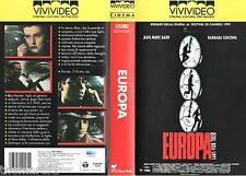 Europa (1991) VHS ViViVideo 1a Ed. -  LARS VON TRIER - rara