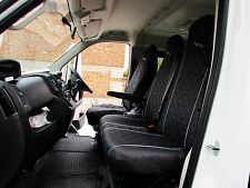 Mercedes Vito 2004 - 2012 Seat Covers 1 SINGLE 1 DOUBLE GREY PIPING