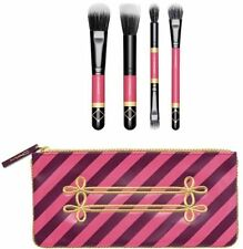 Authentic! MAC Nutcracker Sweet Mineralize Brush Set + Cosmetic bag New!