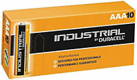 10 x DURACELL INDUSTRIAL AAA PROFESSIONAL ALKALINE BATTERIES REPLACES PROCELL
