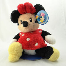 "DISNEY FLOPPIES ~ MINNIE MOUSE ~ 14"" Plush Figure 9966 ~ Soft Cuddly ~ NEW"
