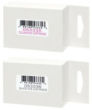 Primera =BRAVO PRO= Color/Black Ink Cartridge Set 2-Pak (Primera 53335 & 53336)