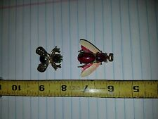 Weiss Bee and Warner Wasp Pin Broach