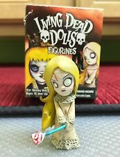 "LIVING DEAD DOLLS 2"" FIGURINE SERIES 3 POSEY REGULAR VERSION NEW WITH BOX"