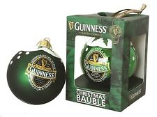 Guinness Ireland Christmas Bauble Soft Sheen
