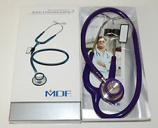 MDF 747XP Adult MDF8 Purple Rain Purple Acoustica Stethoscope BRAND NEW IN BOX!