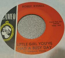 Bobby Rydell – Little Girl You've Had A Busy Day / Make Me Forget ~ Doo Wop