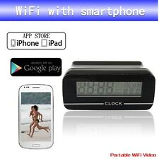 Android/iPhone video APP WiFi Spy Camera orologio RECORD E Orologio su qualsiasi Smartphone