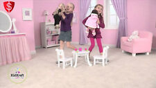 Doll Table and Chairs Wooden Toy Set Furniture Kids Fun Play Activity 18 Inch