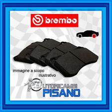 P85125 4 PASTIGLIE FRENO POSTERIORI BREMBO NUOVE & ORIGINALI