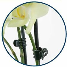 Orchid and Plant Spike Clips - Green 100 Pack