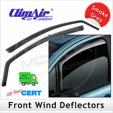 CLIMAIR Car Wind Deflectors Mitsubishi Outlander Mk2 2006-2012 FRONT Pair NEW