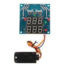 Digital Led Intelligent Temperature Humidity Controller Module 12V AC/DC NEW