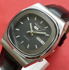 Vintage seiko 5  automatic mens day date  japan working wrist watch E033