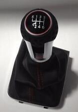 Original del VW Golf GTI VII palanca de cambio aluminio con pelota de golf y cordones de color rojo
