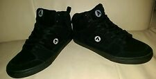 Airwalk Men's Royer Hi Suede Athletic Shoes Sneakers 8 Black Skate board