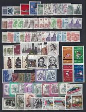 GERMANY & EUROPE 1940's 1980's COLLECTION OF 400 MINT ALMOST ALL NEVER HINGED