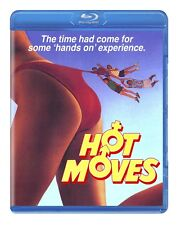 HOT MOVES (1985) Blu-Ray 80's TEEN SEX Comedy JILL SCHOELEN Code Red *SEALED OOP