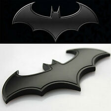 3D Metal Bat logo car styling car sticker batman badge emblem 8*3.5 cm