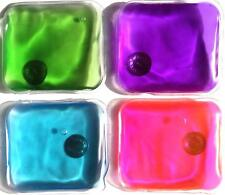 6 pieces of reusable hand warmers. Click it Hot or use it Cold. Great Value!!