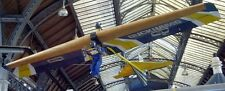 Volmer VJ-23 Swingwing Foot Launch Glider Aircraft Wood Model Big New