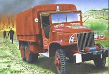 Light 1:35 (81119): GMC TRUCK Pompier (Kit)