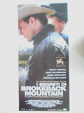 "LOCANDINA FILM ""I SEGRETI DI BROKEBACK MOUNTAIN"""