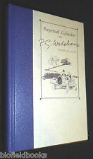 NEW: Annus Wodehousiensis: Perpetual Calendar/Diary - P G Wodehouse Book of Days