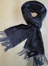 Hugo Boss Scarf - Heltos Dark Grey Cashmere / Virgin Wool