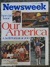 Newsweek Magazine July 4,1976 Our America Self Portrait At 200 Years VINTAGE ADS