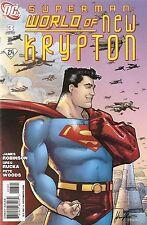 Superman World of New Krypton '08 3 Variant Cover VF S3