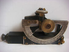 Antique Angle Finder In The Case