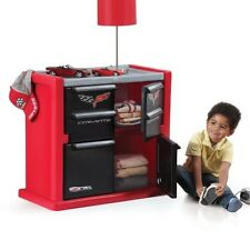 Kids Dresser Corvette Storage Bed Room Furniture Playroom Toy Boy Toddler Child