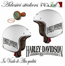 1 ADESIVO STICKERS REPLICA HARLEY DAVIDSON USA CASCO MOTO CUSTOM