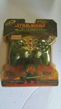 NEW STAR WARS YODA WIRELESS CONTROLLER FOR PS2 PLAYSTATION 2 (PACKAGING BRITTLE)
