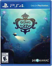 Song of The Deep PS4 Game BRAND NEW SEALED