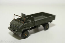 DINKY TOYS 821 ARMY MERCEDES BENZ UNIMOG TRUCK GOOD CONDITION