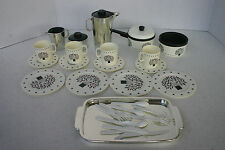 Vintage Chilton Globe Plastic Kitchenware Play Dishes 32 Pieces