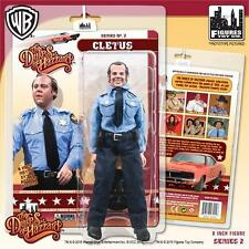 DUKES OF HAZZARD SERIES 2; CLEETUS , 8 INCH ACTION FIGURE, FIGURES TOY CO MIP