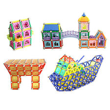 238pcs Children kid Magnetic Building Blocks Transform Puzzles Model Xmas Gifts