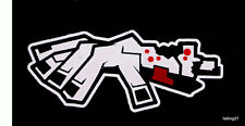 "*BLOODY* Zombie Arm Family Car Decal window Sticker ""The Walking Dead"""