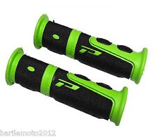 Coppia Manopole Verde / Nero Manubrio Bici MTB - City Bike - Fixed PROGRIP