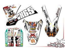 KTM SX 50 65 85 | 2001 - 2016 | KID MX Graffiti DECORO DECALS KIT ADESIVI Bud