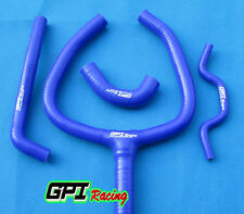silicone radiator hose Y kit FOR Kawasaki KX250F KXF 250 2009-2015 14 13 12 BLUE