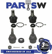 4Pc New Suspension Kit  Ball Joints for Dodge Ram 1994 1995 1996 1997 1998 1999