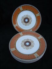 Service assiettes plates Bernardaud Limoges Grand Versailles France lot de 6