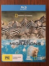 Great Migrations Blu-ray National Geographic *VGC *Free Postage